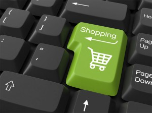 Green Shopping Button